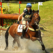 Camilla Neil Martin (GBR) and Mrs Tilly DE at the 2007 Blair Horse Trials held in Blair Atholl, Scotland