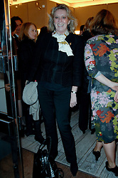 BARONESS MARIE-CLAIRE VON ALVENSLEBEN at a party to celebrate the publication of 'Parisian Chic: A Style guide' by Ines de La Fressange held at Roger Vivier, Sloane Street, London on 5th Apreil 2011.