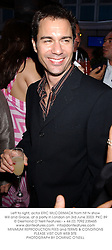 Left to right, actor ERIC McCORMACK from hit tv show Will and Grace, at a party in London on 3rd June 2003.PKC 89