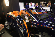 JAMIE SOUTER, Preview for The London Motor Show, Battersea Evolution. London. 5 May 2016