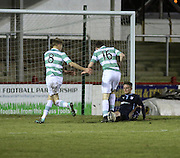 Andy Black makes a great block to deny Celtic a late winner - Dundee v Celtic - SPFL 20s Development League at Gayfield<br /> <br />  - &copy; David Young - www.davidyoungphoto.co.uk - email: davidyoungphoto@gmail.com