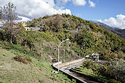 15 November 2017, Pellezzano, district of the Salerno City, Southern Italy. During the Second World War the Pellezzano hill is renamed &quot;Collina 270&quot;. The hill has been an very important outpost, fortified by the German army to prevent the access of the allies troops in the Arno Valley, and then to the roads leading to Avellino and the agro-nocerino-sarnese area. On February 20, 2014, the members of the &quot;Salerno 1943&quot; association, have a find the human rests of two British soldiers a short distance away from each other.<br />