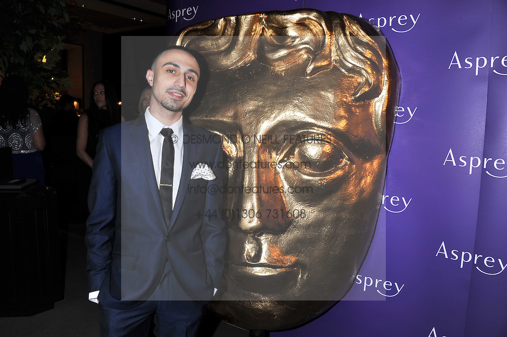 ADAM DEACON at the Asprey BAFTA Party held at Asprey, 167 New Bond Street, London on 11th February 2012.
