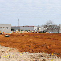 Lauren Wood   Buy at photos.djournal.com<br /> Construction continues at the Walmart Neighborhood Market on South Gloster.