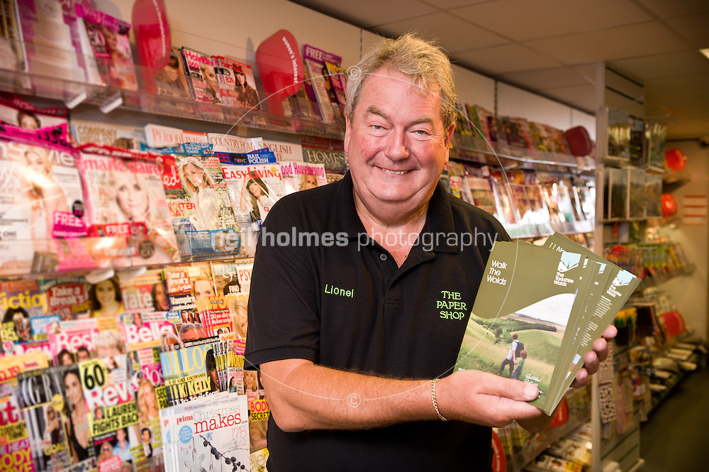 Market Weighton, East Yorkshire. Pictured The Paper Shop's  Lional Cashin