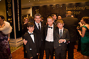 Liam Cumming;  Jason Solomons; Will Poulter; Bill Milner. The London Critics' Circle Film Awards 2009 in aid of the NSNCC. Grosvenor House Hotel . Park Lane. London. 4 February 2009 *** Local Caption *** -DO NOT ARCHIVE -Copyright Photograph by Dafydd Jones. 248 Clapham Rd. London SW9 0PZ. Tel 0207 820 0771. www.dafjones.com<br /> Liam Cumming;  Jason Solomons; Will Poulter; Bill Milner. The London Critics' Circle Film Awards 2009 in aid of the NSNCC. Grosvenor House Hotel . Park Lane. London. 4 February 2009