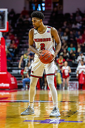 NORMAL, IL - November 10: Zach Copeland during a college basketball game between the ISU Redbirds and the Little Rock Trojans on November 10 2019 at Redbird Arena in Normal, IL. (Photo by Alan Look)