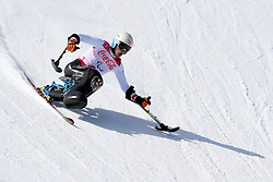 RABL Roman LW12-1 AUT competing in the Para Alpine Skiing Downhill at the PyeongChang2018 Winter Paralympic Games, South Korea