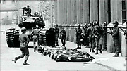 1973 when the Chilean government headed by Salvador Allende was toppled by a military coup led by Augusto Pinochet