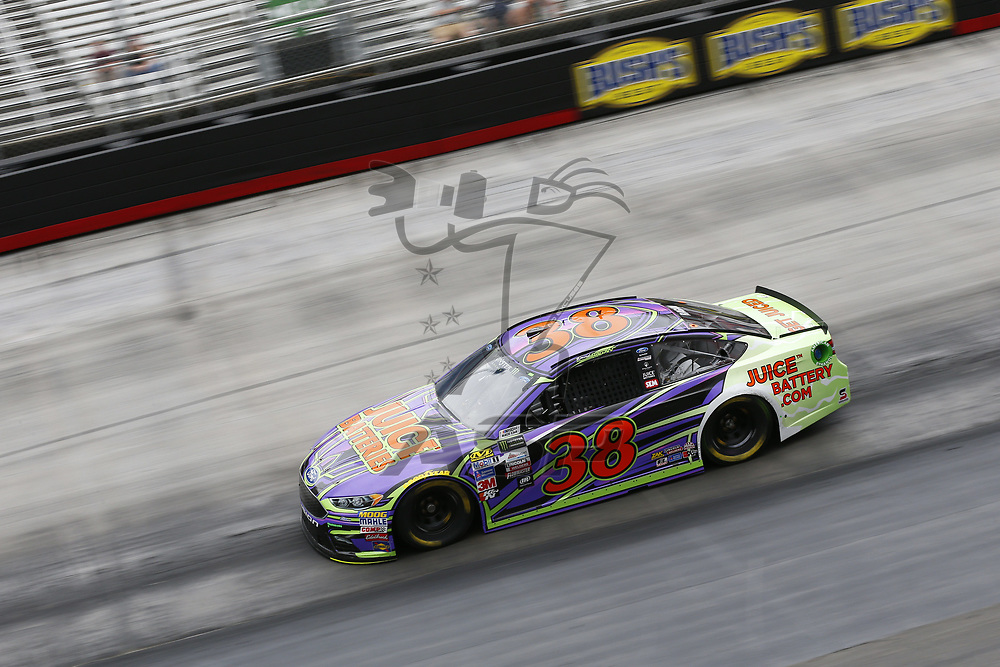August 18, 2017 - Bristol, Tennessee, USA: David Ragan (38) takes to the track to practice for the Bass Pro Shops NRA Night Race at Bristol Motor Speedway in Bristol, Tennessee.