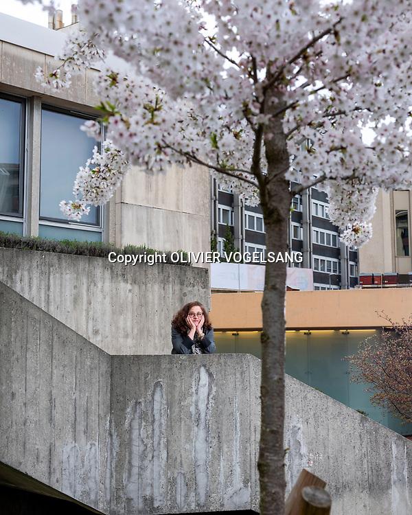 Genève, avril 2018. Solange Ghernaouti, professeure en cybersécurité à la faculté des HEC de l'Université de Lausanne. © Olivier Vogelsang