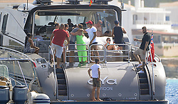 Cristiano Ronaldo and Georgina Rodriguez are seen on holiday in Formentera. 08 Jul 2017 Pictured: Cristiano Ronaldo, Georgina Rodriguez. Photo credit: MEGA TheMegaAgency.com +1 888 505 6342