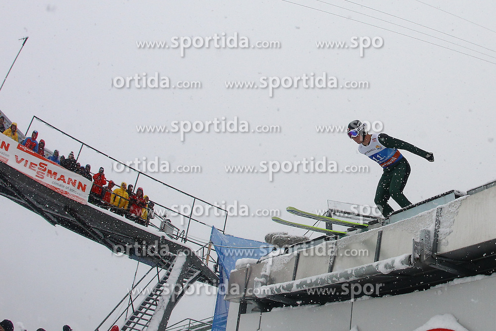 31.12.2011, Olympia Skisprungschanze, Garmisch Partenkirchen, GER, 60. Vierschanzentournee, FIS Ski Sprung Weltcup, Training, im Bild Mackenzie BOYD-CLOWES (CAN) // Mackenzie BOYD-CLOWES (CAN) during a practice session of 60th Four-Hills-Tournament FIS World Cup Ski Jumping at Olympia Skisprungschanze, Garmisch Partenkirchen, Germany on 2011/12/31. EXPA Pictures © 2011, PhotoCredit: EXPA/ Sven Kiesewetter