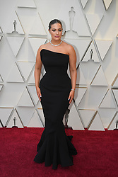 February 24, 2019 - Los Angeles, California, U.S - Supermodel ASHLEY GRAHAM, wearing a Zac Posen dress, during red carpet arrivals for the 91st Academy Awards, presented by the Academy of Motion Picture Arts and Sciences (AMPAS), at the Dolby Theatre in Hollywood.  (Credit Image: © Kevin Sullivan via ZUMA Wire)