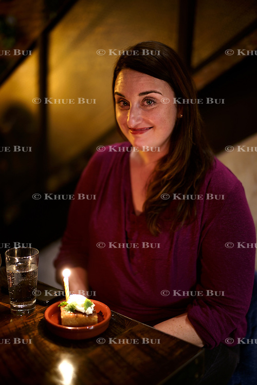 Photo by Khue BuiHolly Bailey celebrates her birthday Friday, January 26, 2018, in Washington, DC.<br /> <br /> Photo by Khue Bui