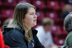 NORMAL, IL - January 06: Lauri Riddell during a college women's basketball game between the ISU Redbirds and the Drake Bulldogs on January 06 2019 at Redbird Arena in Normal, IL. (Photo by Alan Look)