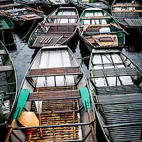 Boats. Ninh Binh, Vietnam