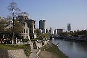 Japan, Honshu, Hiroshima, Peace Memorial Park for atomic bomb of 6 august 1945
