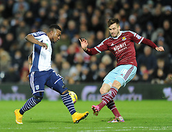 West Ham's Carl Jenkinson - Photo mandatory by-line: Dougie Allward/JMP - Mobile: 07966 386802 - 02/12/2014 - SPORT - Football - West Bromwich - The Hawthorns - West Bromwich Albion v West Ham United - Barclays Premier League