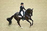 Anna Kasprzak - Donnperignon<br /> Reem Acra FEI World Cup Dressage Final 2013<br /> © DigiShots