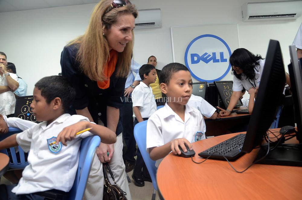 Visita Infanta Elena, Movimiento Nueva Generacion, Panama City.©Victoria Murillo/Istmophoto.com