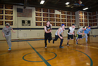 Gilford High School spring sports practice.    Karen Bobotas/for the Laconia Daily Sun