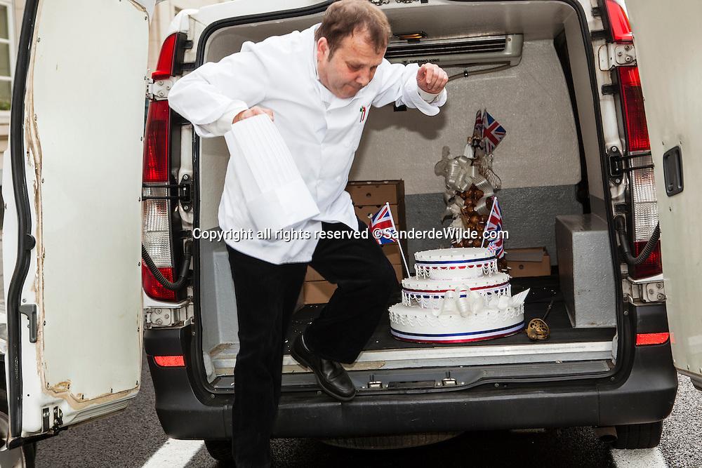 Wittamer leverde de taart voor de viering van het huwelijk van Kate en William in de Ambassade van Groot-Brittanie te Brussel.