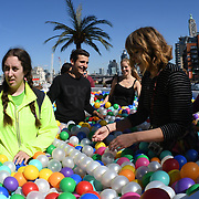 'Say Balls to Boring' ball pool in association with Virgin Holidays will be at Observation Point on the Southbank between 11am to 7pm on Thur Sep 13 and 9am to 6pm on Fri Sep 14.
