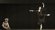 Anna Karenina<br /> chorography by Alexei Ratmansky <br /> The Mariinsky Ballet <br /> at The Royal Opera House, London, Great Britain <br /> rehearsal of Act 1<br /> 9th August 2011 <br /> <br /> Roman Surkov (as Seryozha)<br /> Diana Vishneva (as Anna Karenina)<br /> <br /> Photograph by Elliott Franks