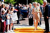 Koningin Maxima geeft startsein voor Burendag