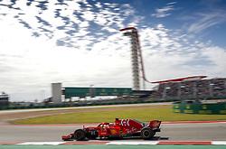 October 22, 2018 - Austin, United States - Motorsports: FIA Formula One World Championship; 2018; Grand Prix; United States, FORMULA 1 PIRELLI 2018 UNITED S GRAND PRIX , Circuit of The Americas , #5 Sebastian Vettel (GER, Scuderia Ferrari) (Credit Image: © Hoch Zwei via ZUMA Wire)