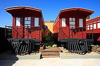 farwest red wagon hotelroom in brazil