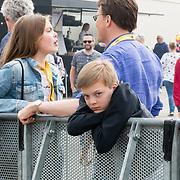 NLD/Zandvoort/20180520 - Jumbo Race dagen 2018, Graaf Claus Casimir met Gravin Leonore en prins Constantijn