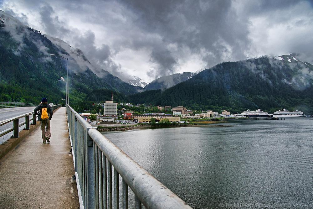 Juneau-Douglas Bridge, Juneau, Alaksa