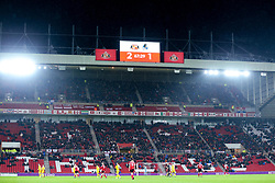 Bristol Rovers fans (top tier) at Sunderland - Mandatory by-line: Robbie Stephenson/JMP - 15/12/2018 - FOOTBALL - Stadium of Light - Sunderland, England - Sunderland v Bristol Rovers - Sky Bet League One