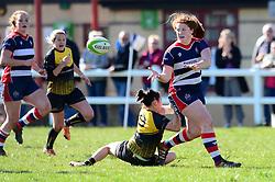 Kayleigh Armstrong of Bristol Ladies - Mandatory by-line: Dougie Allward/JMP - 26/03/2017 - RUGBY - Cleve RFC - Bristol, England - Bristol Ladies v Wasps Ladies - RFU Women's Premiership