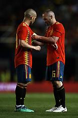 Spain v Switzerland - 03 June 2018