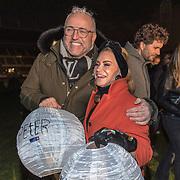 NLD/Amsterdam/20191209 - Aftrap KWF lampionnenactie, Gordon en Connie Witteman
