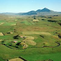Brenniborg séð til suðurs, Lýtingsstaðahreppur / Brenniborg viewing south, Lytingsstadahreppur