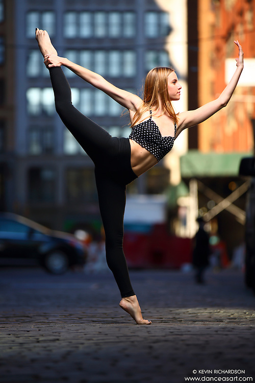 Dance As Art New York City Photography Project SoHo Series with dancer, Erin Dowd.