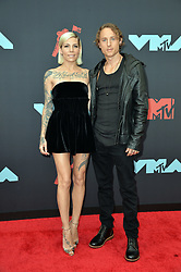 August 26, 2019, New York, New York, United States: Skylar Grey and Elliott Taylor arriving at the 2019 MTV Video Music Awards at the Prudential Center on August 26, 2019 in Newark, New Jersey  (Credit Image: © Kristin Callahan/Ace Pictures via ZUMA Press)