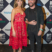 NLD/Amsterdam/20151012 - MTV EMA Pre Party, Noor de Groot en .......