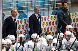 Michael Zettel, assistant coach of Slovenia and Ivo Jan, head coach of Slovenia during ice hockey match between Belarus and Slovenia at IIHF World Championship DIV. I Group A Kazakhstan 2019, on May 2, 2019 in Barys Arena, Nur-Sultan, Kazakhstan. Photo by Matic Klansek Velej / Sportida