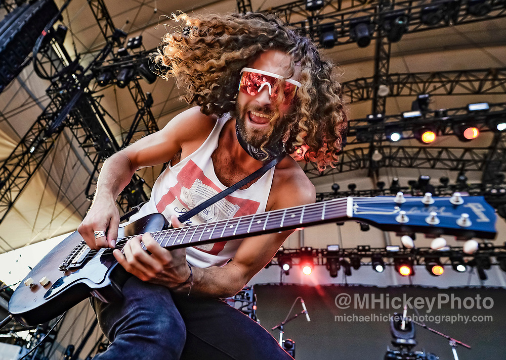 CHICAGO, IL - JUNE 23: Eric Steedly of Lanco performs during Lakeshake at Huntington Bank Pavilion at Northerly Island on June 23, 2018 in Chicago, Illinois. (Photo by Michael Hickey/Getty Images) *** Local Caption *** Eric Steedly
