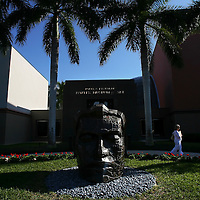 NAPLES, FL - January 23, 2010 -- The Naples Museum of Art, which boasts a strong collection of American and Mexican modernism, is seen in Naples, Fla., on Saturday, January 23, 2010.