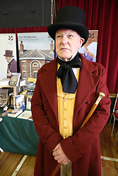 Stall promoting the Southwell Workhouse at Lowdham Book Festival Notts