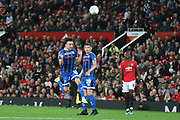 Rochdale's Oliver Rathbone during the EFL Cup match between Manchester United and Rochdale at Old Trafford, Manchester, England on 25 September 2019.