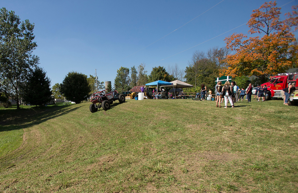Southwold, Ontario ---2014-09-27--- The opening of the Ferndale Community Park<br /> GEOFF ROBINS