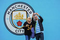Manchester City fans take a selfie outside the Etihad Stadium - Mandatory by-line: Matt McNulty/JMP - 23/09/2017 - FOOTBALL - Etihad Stadium - Manchester, England - Manchester City v Crystal Palace - Premier League