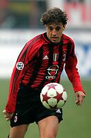 Milano 16-01-2005<br /> <br /> Campionato  Serie A Tim 2004-2005<br /> <br /> Milan Udinese 3-1<br /> <br /> Milan Hernan Crespo<br /> <br /> <br /> <br /> Foto Branch/ Graffiti